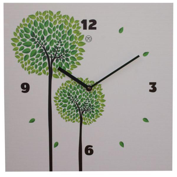 Quarz-Wanduhr Design / Bäume