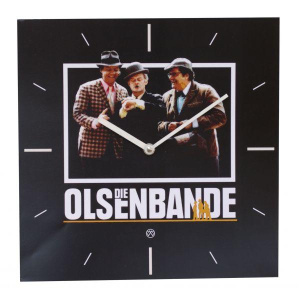 Quarz-Wanduhr / Olsenbande